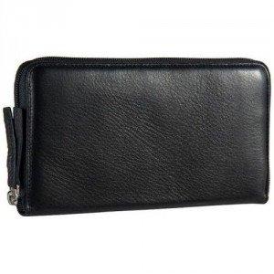 Jost Mono (19 cm) Geldbörse schwarz