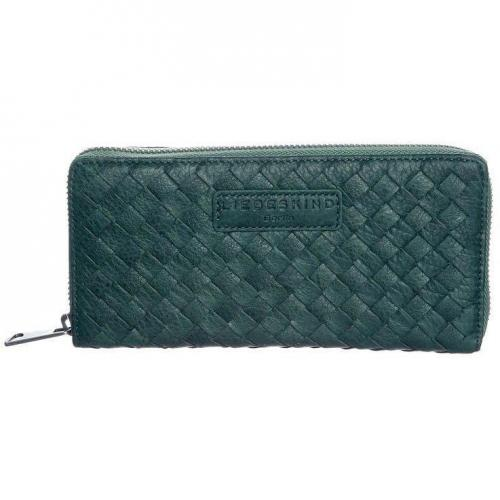 Liebeskind Sally Braid Geldbörse bottle green