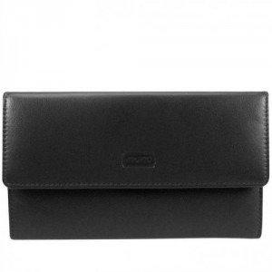 mano Basic De Luxe (16,5 cm) Geldbörse schwarz