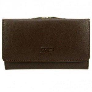 mano Basic Deluxe Geldbörse braun mit einem Steckfach