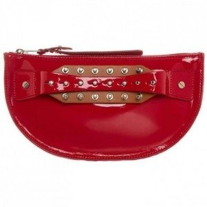 Mcq Clutch lipstick red