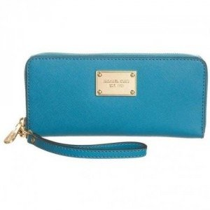Michael Michael Kors Iphone Continental Clutch turquoise