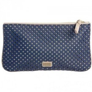 Moschino Cheap & Chic Clutch pink/blau