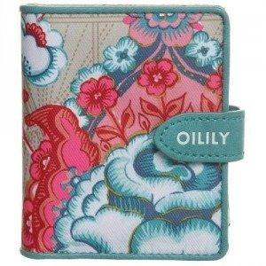 Oilily Fantasy Flora Geldbörse biscuit mit Logoprägung