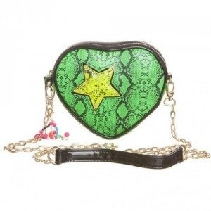 Paul's Boutique Hetty Star Clutch Clutch snake green