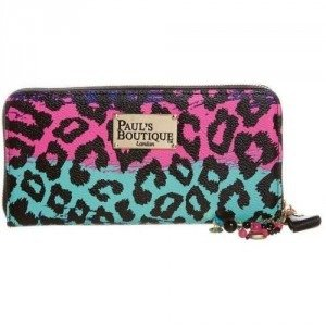 Paul's Boutique Lizzie Geldbörse rainbow leopard