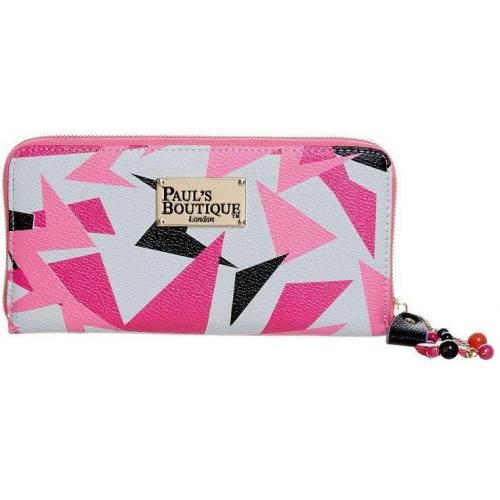 Paul's Boutique Lizzie Geldbörse zig zag pink