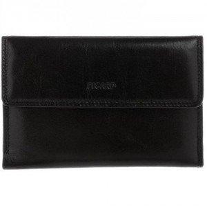 Picard Geldbörse schwarz mit großem Geldscheinfach