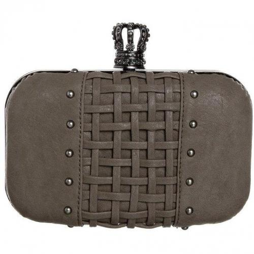 Religion Interweave Clutch taupe