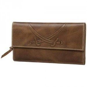 Sansibar Sylt Pampero Ladies Wallet (18,5) Geldbörse cognac