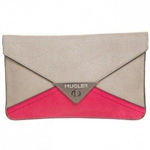 Thierry Mugler Clutch beige/rose