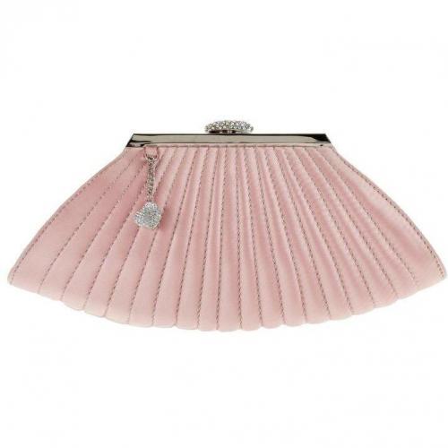 Tosca Blu Clutch rosa mit Herzanhänger