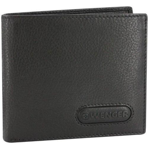 Wenger Eiger Geldbörse schwarz mit 8 Kartenfächern