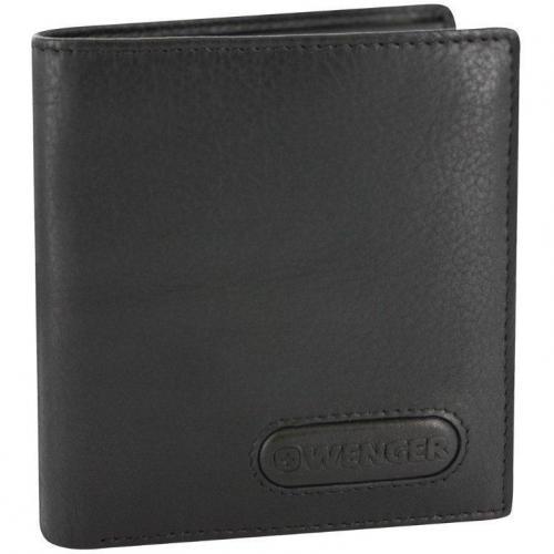 Wenger Eigner GeldBÖrse (9 cm) Geldbörse schwarz