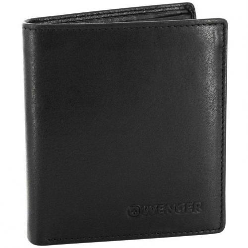 Wenger Rautispitz (9,5 cm) Geldbörse schwarz