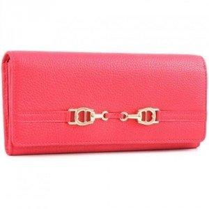 Aigner All In L Geldbörse Damen Leder pink 20 cm