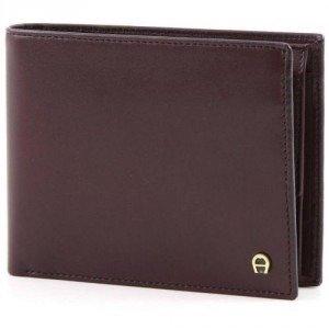 Aigner Basics Geldbörse dunkelrot 11 cm
