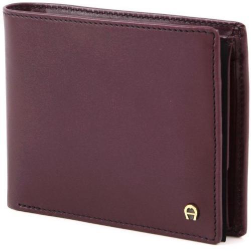 Aigner Basics Geldbörse dunkelrot 12 cm