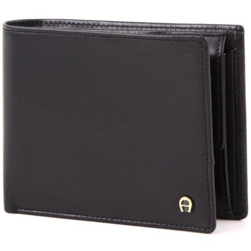 Aigner Basics Geldbörse schwarz 12 cm