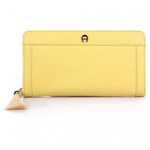 Aigner Zip-Around-Wallet Buttercup