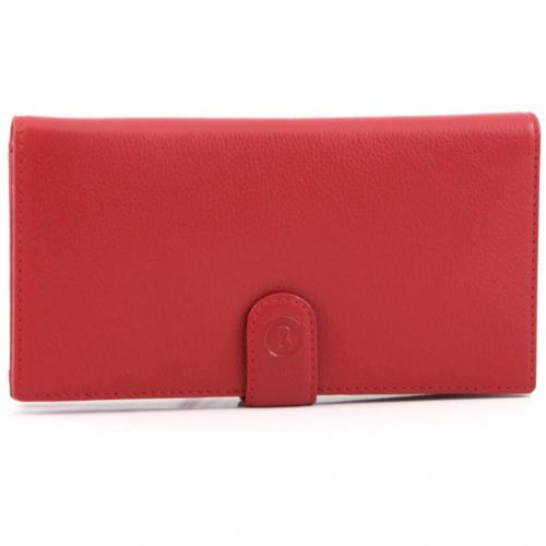 Bogner Smart Big Money Geldbörse Damen rot 19 cm