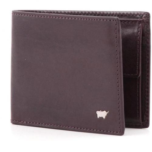 Braun Büffel Basic Geldbörse aus Leder bordeaux 11,5 cm