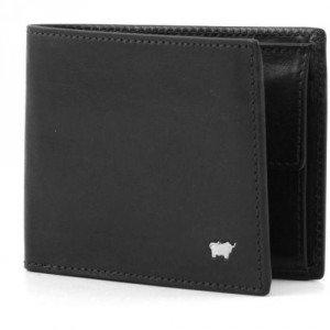 Braun Büffel Basic Geldbörse schwarz 11,5 cm