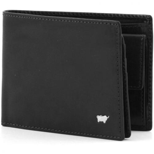 Braun Büffel Basic Geldbörse schwarz 12 cm
