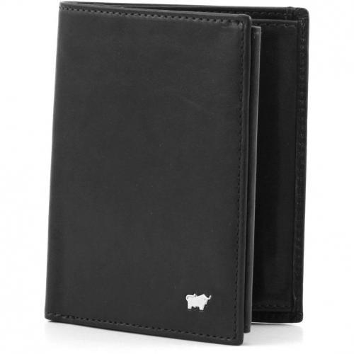 Braun Büffel Basic Geldbörse schwarz 12,5 cm