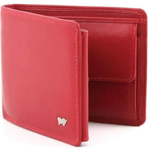Braun Büffel Golf Geldbörse rot 12 cm