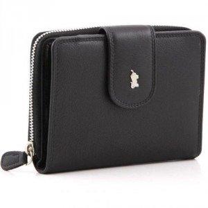 Braun Büffel Golf Geldbörse schwarz 12,5 cm
