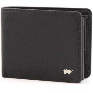 Braun Büffel Golf Portemonnaie schwarz 12 cm