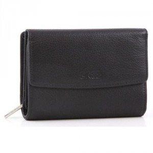 Bree Montpellier 108 Geldbörse Damen schwarz 13 cm