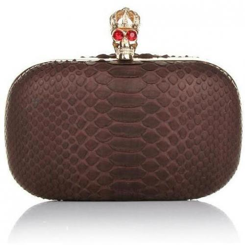Civette Clutch Corona Dark Brown