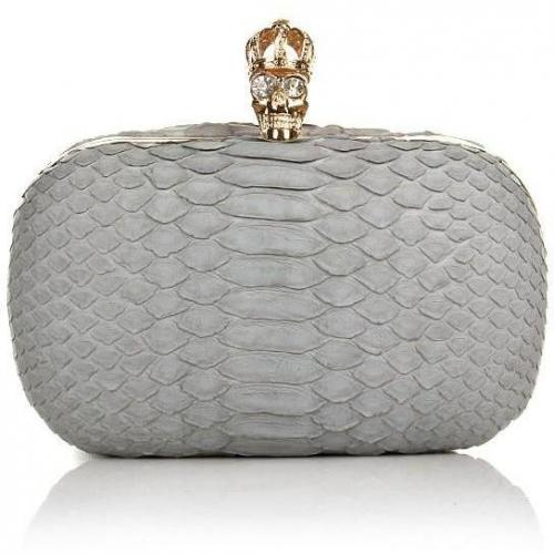 Civette Clutch Corona Light Grey