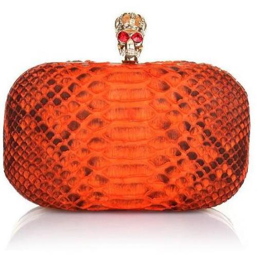 Civette Clutch Corona Orange