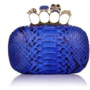 Civette Clutch Venere Electric Blue