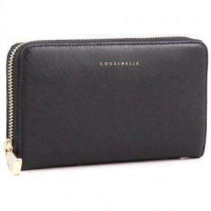 Coccinelle Lady Geldbörse Leder schwarz 18 cm