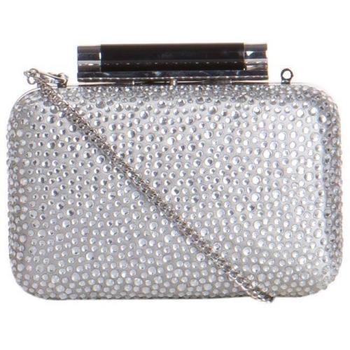 Diane von Furstenberg Box-Clutch Tonda Sm Crystal