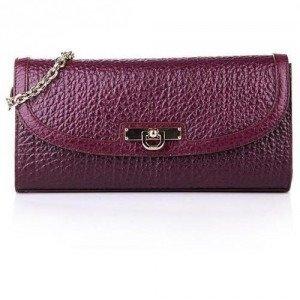 DKNY Clutch Leather Purple