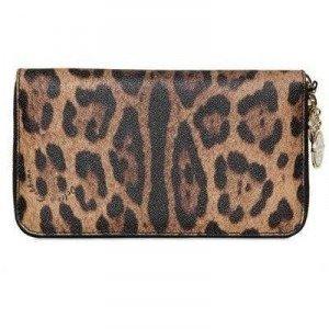 Dolce & Gabbana Miss Astrid Leo Druck PVC Clutch Tasche