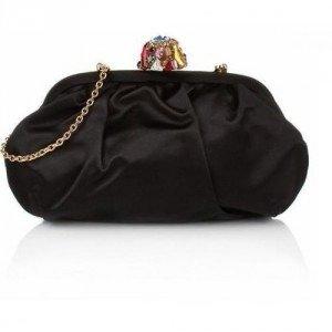Dolce&Gabbana Pochette Raso Black