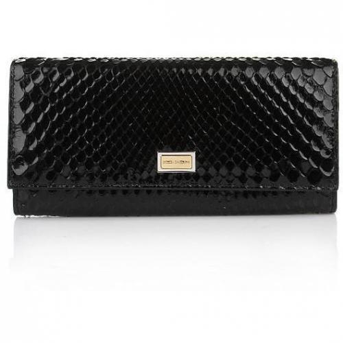 Dolce&Gabbana Portafoglio Pitone Nero