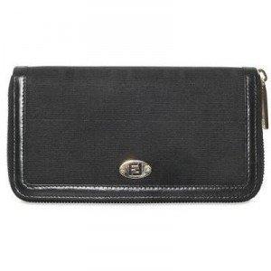Fendi Brieftasche Im Zucca Jacquard black