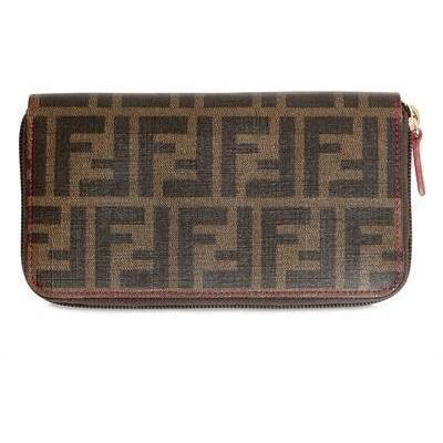 Fendi Zucca Piu' Brieftasche