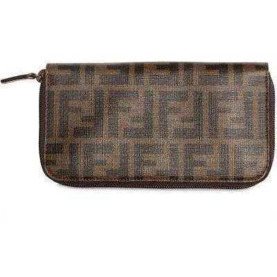 Fendi Zucca Zip Around Brieftasche