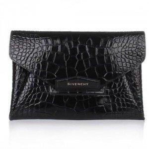 Givenchy Antigona Envelope Black