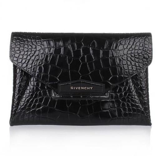 Givenchy Antigona Envelope Black
