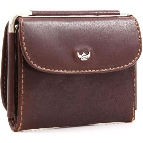 Golden Head Colorado Brieftasche Leder braun 10,5 cm
