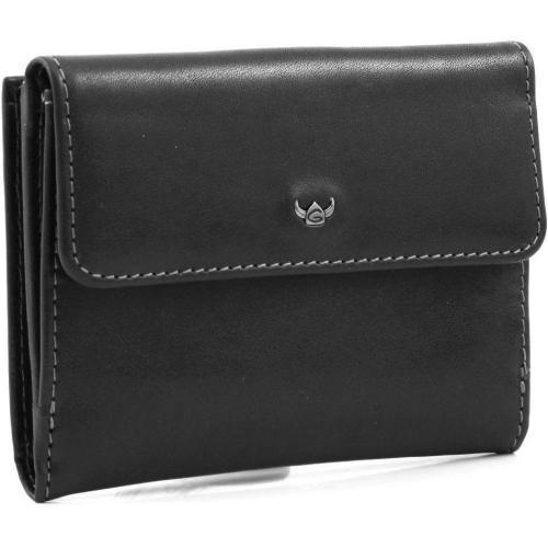Golden Head Colorado Brieftasche Leder schwarz 12 cm